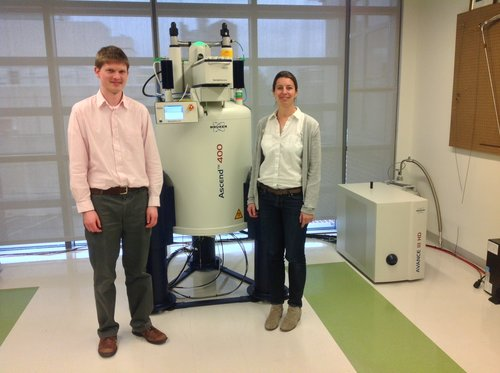 NMR with Drs. Barker and Boussert